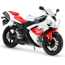 1:10 Motorcycle Models YZF-R1 YZFR1 Simulation Model Metal Diecast Models Motor Bike Miniature Race Toy For Gift Collection(China)