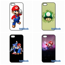 Super Mario Bros Phone Cases Cover For LG L70 L90 K10 Google Nexus 4 5 6 6P For LG G2 G3 G4 G5 Mini G3S(China)