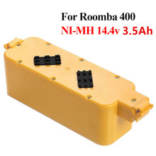 14.4v 3500mah NI-MH for IRobot Roomba 400 Series Replacement Vacuum Battery Pack for 405 410 415 4232 4130 4150 4170 4188 4210