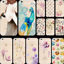 Top Painting Pretty Flowers Graffiti Soft Silicon Phone Back Cases Cover For Apple iPhone 5C iPhone5C Case Shell Best Choose Hot