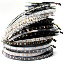 1m/2m/4m/5m 5V APA102 digital smart rgb led pixel strip light,30/32/60/72/144leds/pixels/m,IP20/IP65/IP67 DATA CLOCK seperately(China)