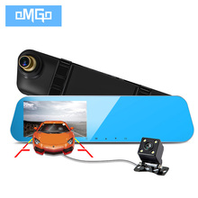 auto dvrs cars dvr dual lens car camera rearview mirror recorder video registrator full hd1080p night vision dash cam camcorder