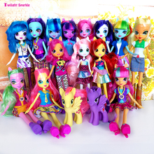 Original genuine Monsters Highs doll Girls Dolls Twilight sparkle Applejack Rainbow classic toys Best Gift for Girl anime toy