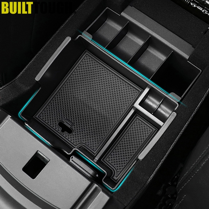 For 2016-2017 2018 Ford Explorer Console Armrest Storage Bin Box Tray Container