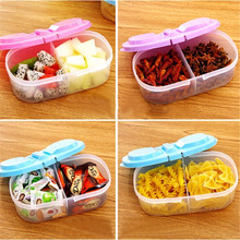 Multi-function Kitchen Food Grains Sealed Cans Kitchen Refrigerator Storage Box Plastic Storage storage bins free shipping