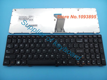 5pcs/lots New English keyboard for IBM LENOVO Ideadpad G575 G575A G570 G570AH G570G G575AC G575AL G575GL Z560 US laptop keyboard(China)