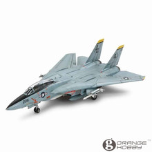 OHS Tamiya 60782 1/72 F14A Tomcat Assembly Airforce Model Building Kits(China)
