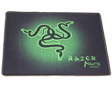 Anti-slip rubber mouse pad with M size 290*250*2 mm and edge locking for laptop desktop computer