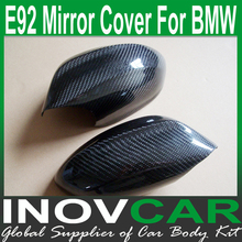 E92 carbon fiber Car accessories, Auto Mirror Cap for Bmw E92 Mirror Covering