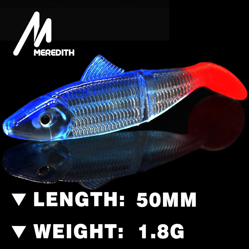 MEREDITH FISHING JX03-05 Retail HOT SELLER  10pcs  50mm 2g  EYES Artificial bait fish Fishing soft Lures<br><br>Aliexpress