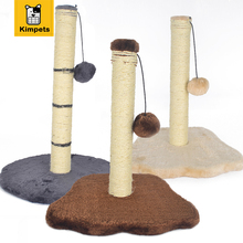 2017 New Pawz Print Cat Toy Cat House Swinging the Ball Cat Furniture&Scratchers Cat Tree Scratch Toy For Pet Kitten Jumping
