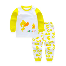 Children's Suit Baby Boy Clothes Set Cotton Fashion Brand Infant Sets For Newborn Cute Cartoon Baby Boy Girl Clothing Kids Suits