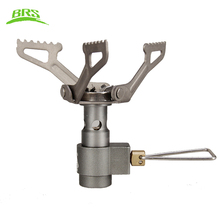 BRS Titanium Stove Gas Stove Outdoor Camping Cooking Stove Only 25g BRS-3000T(China)