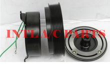 447220-1472 447300-0611 10P30C/10PA30C ac compressor magnetic clutch assembly 7pk pulley for Toyota Coaster/mini bus(China)