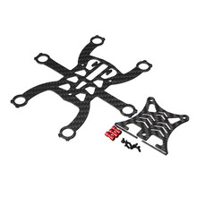 Newest Eachine EX120 FPV Brushed Racing Quadcopter Spare Parts Carbon Fiber DIY Frame Kit