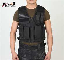 MOLLE Tactical Vest Shooting Paintball Airsoft Combat Vest Military Body Armor Sports Wear Breathable Hunting Swat Vest(China)