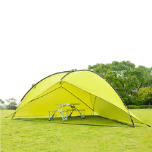 480*480cm Waterproof Canopy Huge Sun Shelter Bivvy Awning Beach Pergola Fishing Outdoor Camping Tent DH0137
