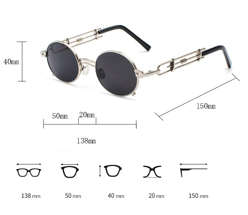 metal round steampunk sunglasses 900038 details (1)