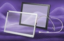 19 inch vandalproof saw touch screen with 6mm thickness glass