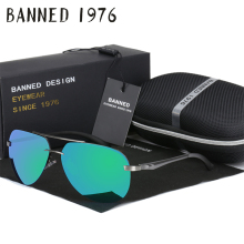 Aluminum magnesium HD polarized aviation Sunglasses women men driving sun Glasses vintage oculos de sol with original brand box(China)