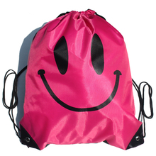 Smiley face Diving Bags sports bags storage beach swimming tool