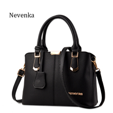 Nevenka Women Bag Big Handbag OL Style Shoulder Bags Casual Zipper Messenger Bags PU Leather Tote Pendant Purse Satchel Sac