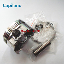 motorcycle piston kit CG133 JH125-33 with iston ring piston pin for Honda CG 133 cylinder engine parts 133CC bore 58.5mm