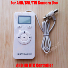 3 In 1 AHD TVI CVI Analog HD UTC Controller for Surveillance CCTV Camera BNC UP the Coax Coaxial Cable OSD Menu Remote Control