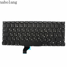 "Nabolang NEW Russian Keyboard for Apple Macbook Pro A1502 13"" 2013 2014 Retina RU standard Replacement Keyboard(China)"