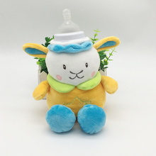 Cute Baby Feeding Bottle Insulation Bag Thermal Bag for Baby Bottle Bolsa Termica Thermos Milk Bottle Holder Stuffed Plush Toys(China)