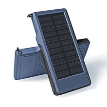 YFW 10000mAh Solar Pover Bank Dual Output USB Mobile Charger QC3.0 Waterproof External Fast Charger For iPhone & Android phones(China)