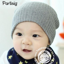 Baby Hats Knitted Autumn Winter Baby Caps For Boys Girls Children's Winter Hats All For Children's Clothing And Accessories(China)