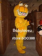 High quality Adult size Cartoon Bubble Garfield cat Mascot Costume mascot cosplay halloween costume christmas Crazy Sale