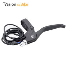 PASION E BIKE Electric Bicycle Brake Line Lever Electric Bikes Parts bicicleta Black Aluminum Alloy