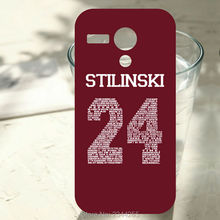 New Arrival For Motorola Moto G G2G3 X X2 X3 Teen Wolf Stilinski 24 Hard back cover for blackberry z30 z10 q20 q10 q5 phone case