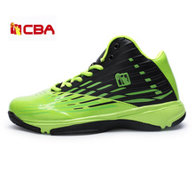 new high-top men basketball shoes basket homme athletic outdoor wear non-slip grip cheap sneakerssports traning Rubber Lace-Up
