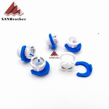 10PCS UM2 Ultimaker 2 Extended+ Bowen Tube Card Feed Tube Blue White Buckle For Hot end Print Head Free Shipping