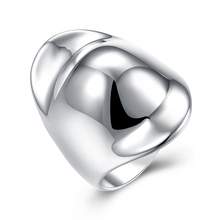 925 Sterling Silver Fashion popular  Hat Shape Thumb Ring High Fashion Jewelry Best Gift R050 Size 8