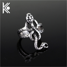 Free shipping Horcrux voldemort Death eater snake rings Ron hermione snape Nagini size 6-11(China)