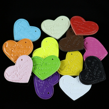30Pcs/Lot Mixed Color PU Pendants For Cellphone Charms/Keychain Making Bag Charms Diy Accessories