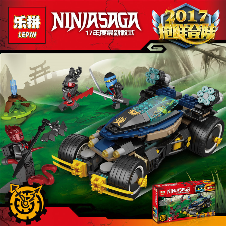 Lepin 06046 Samurai VXL assembled Building Blocks Bricks figures Toys compatible with Ninja 70625<br><br>Aliexpress