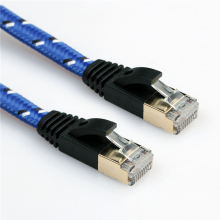 New Arrival Durable 1M 3M 5m 8m 10M 15M 20M CAT7E Ethernet Internet Network Patch LAN Flat Cable Cord For Computer Laptop(China)