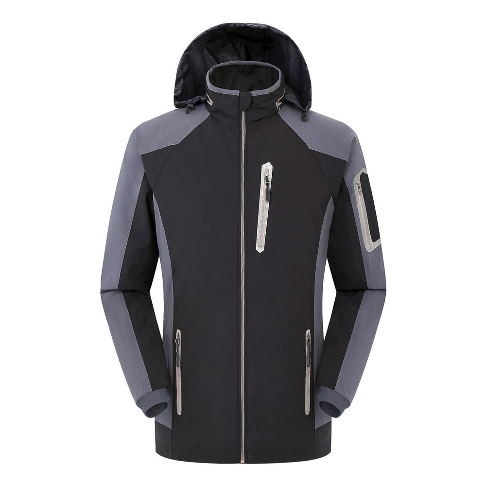 Manufacturers selling Mens single outdoor jackets without liner single thin breathable waterproof can be set<br><br>Aliexpress