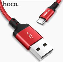 HOCO USB Type C Cable Samsung Galaxy S8 S9 2A USB C Fast Charge Data Cable Huawei P10 Nexus 5X 6P OnePlus 5 USB Type-C