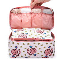 Good Quality Women Travel Or Business Inner and Underwear Bags Multifunctional Toiletry Organizer Bags Size M(China)