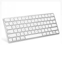 BK200 Ultra-slim Wireless Keyboard Bluetooth 3.0 Keyboard for Apple for iPad Series OS System White