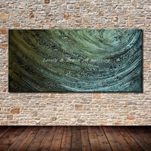 100% Hand Painted Canvas Oil Painting Hand Made Modern Abstract Oil Paintings On Canvas For Living Room Home Decoration No Frame(China)