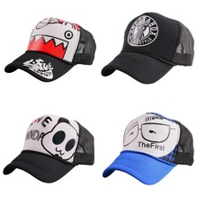 big discount hero letter hip hop summer baseball cap for women men boy girl mesh breathable fashion trucker sun hat snapback