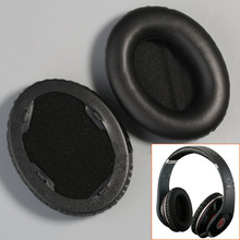 Black Replacement Earpads Ear Pads Cushions for Beats By Dr Dre Studio Headphone