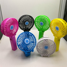 New  Electric Foldable Hand Fans Battery Operated Rechargeable Handheld Mini Fan For Home Office Car Travel